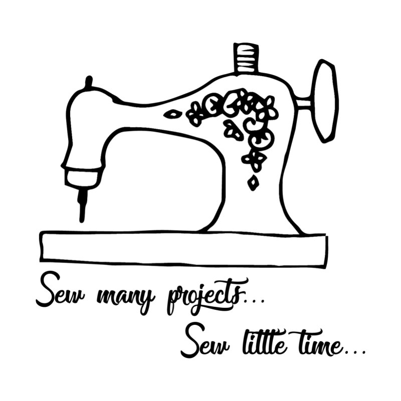Sew many projects... by RockerByeDestash Market