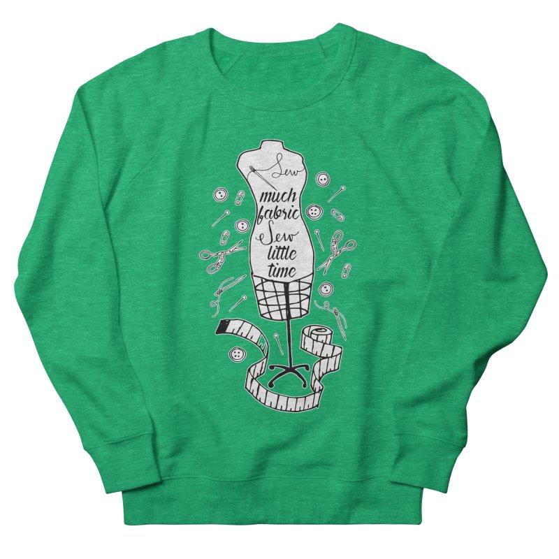 Sew Much Fabric Women's Sweatshirt by RockerByeDestash Market