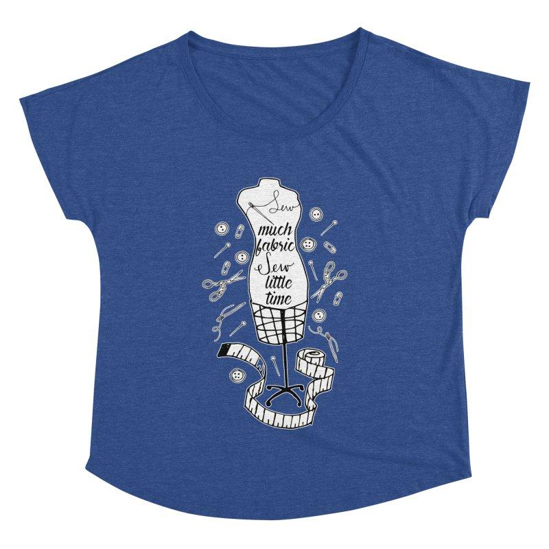 Sew Much Fabric Women's Dolman Scoop Neck by RockerByeDestash Market