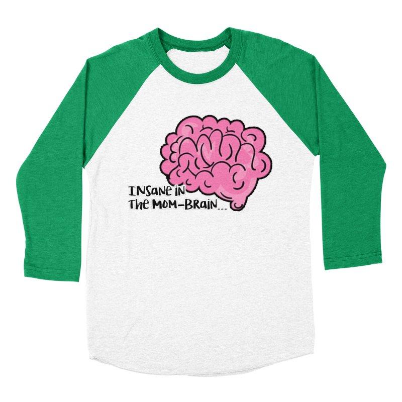Insane Women's Baseball Triblend Longsleeve T-Shirt by RockerByeDestash Market