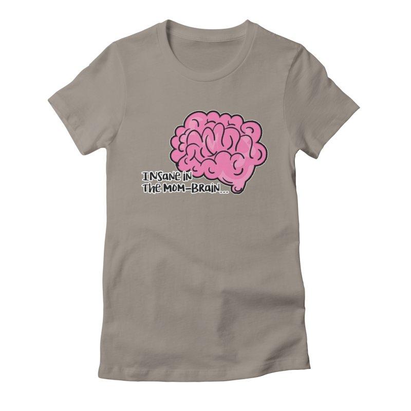 Insane Women's Fitted T-Shirt by RockerByeDestash Market