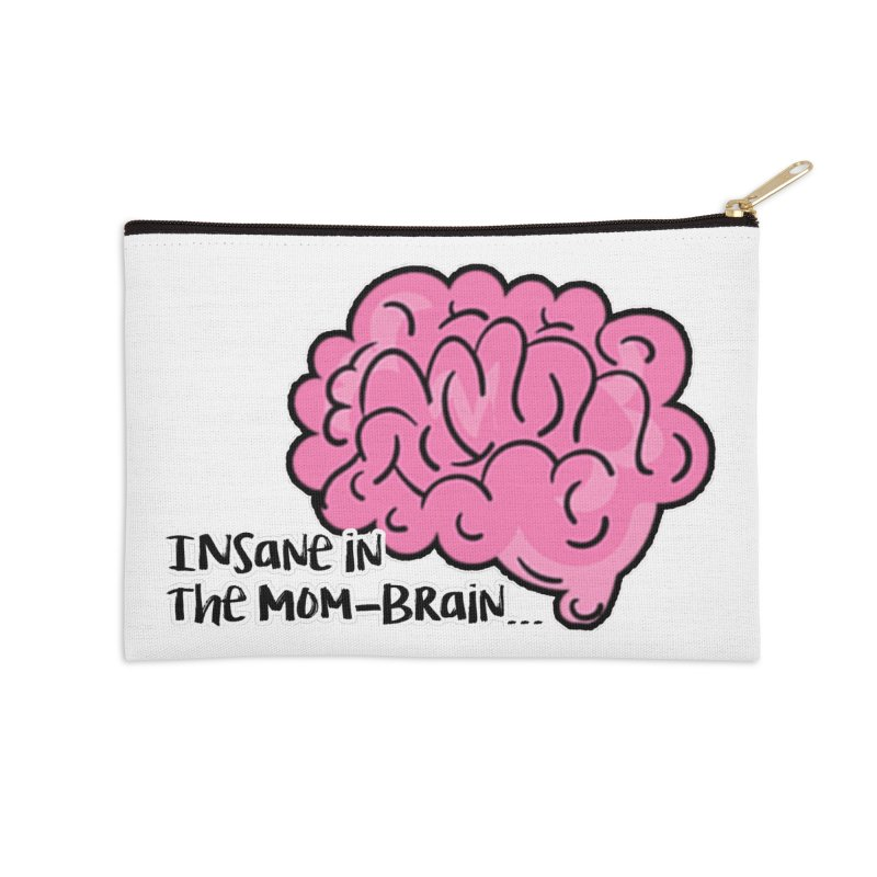 Insane Accessories Zip Pouch by RockerByeDestash Market