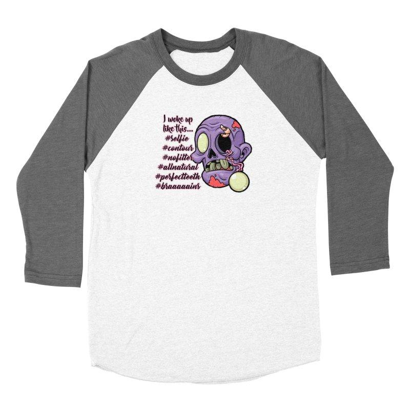 #zombie Women's Longsleeve T-Shirt by RockerByeDestash Market