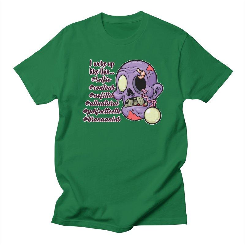 #zombie Men's T-Shirt by RockerByeDestash Market