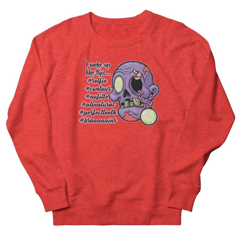 #zombie Men's Sweatshirt by RockerByeDestash Market