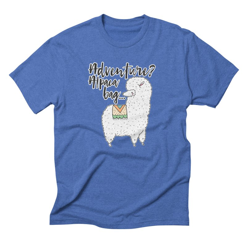 I'll pack a bag. Men's T-Shirt by RockerByeDestash Market