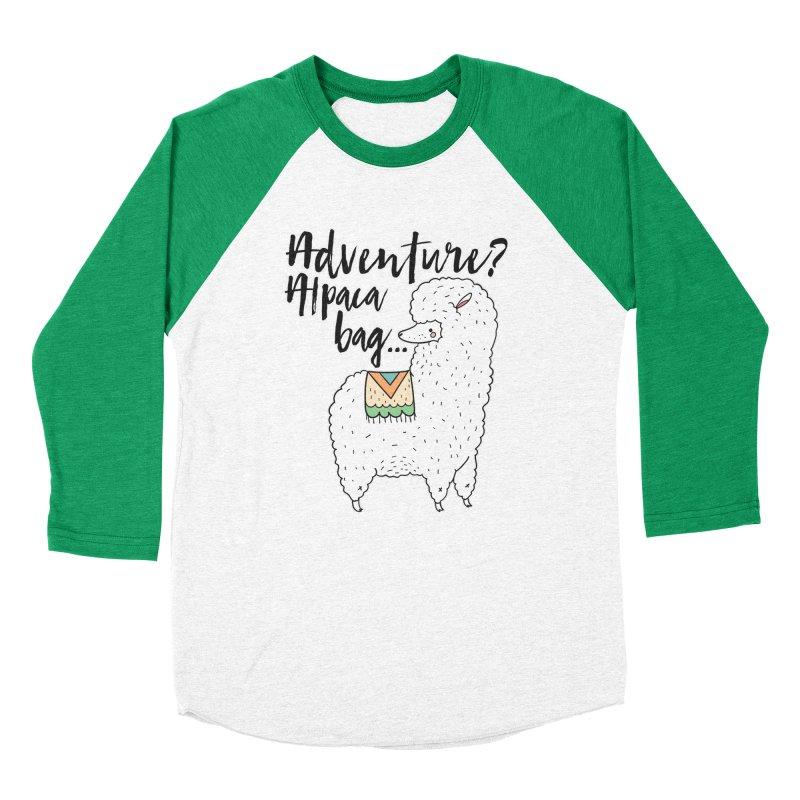 I'll pack a bag. Women's Baseball Triblend Longsleeve T-Shirt by RockerByeDestash Market