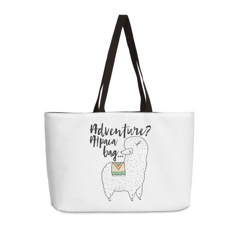 I'll pack a bag. Accessories Bag by RockerByeDestash Market