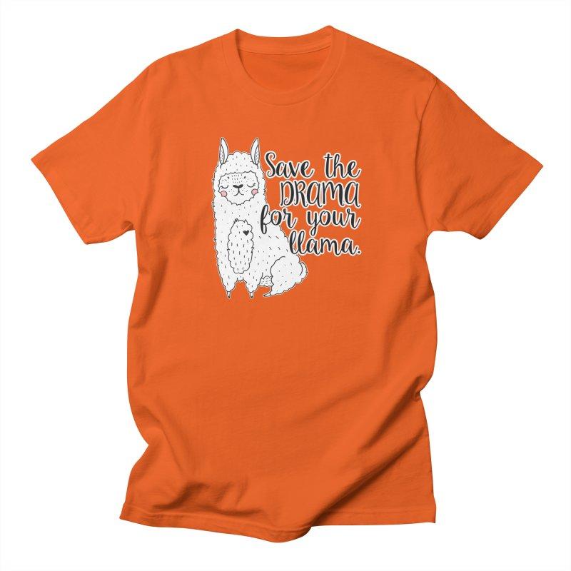 Drama llama Men's T-Shirt by RockerByeDestash Market