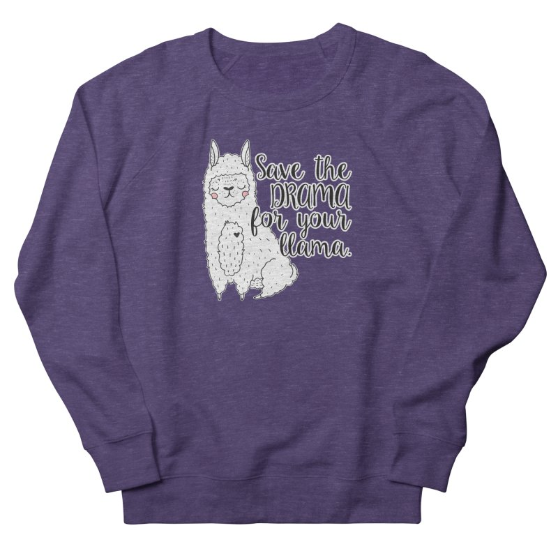 Drama llama Men's Sweatshirt by RockerByeDestash Market