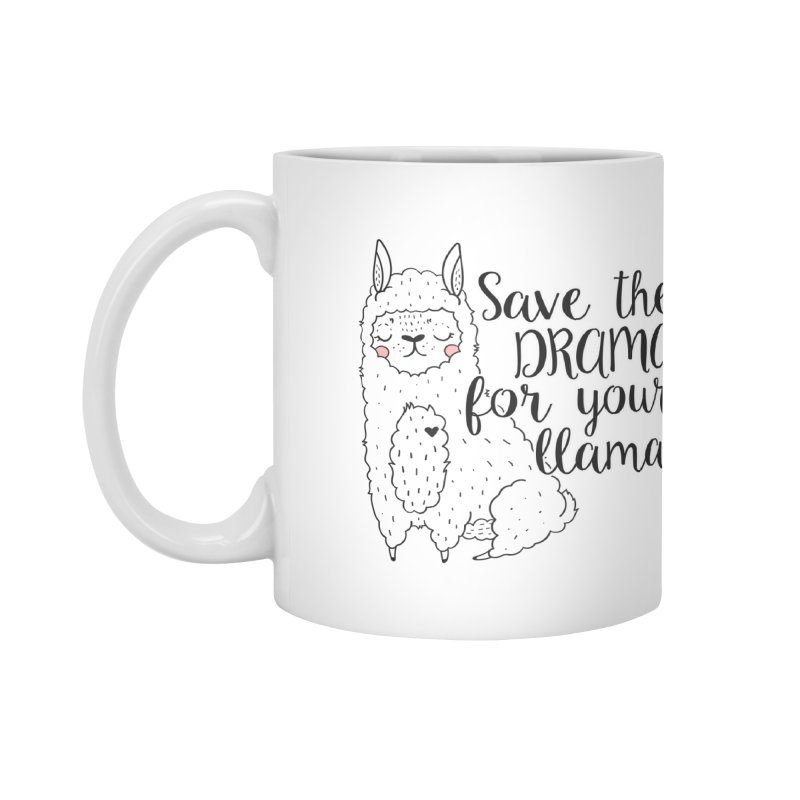 Drama llama Accessories Mug by RockerByeDestash Market