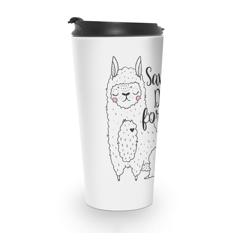 Drama llama Accessories Travel Mug by RockerByeDestash Market