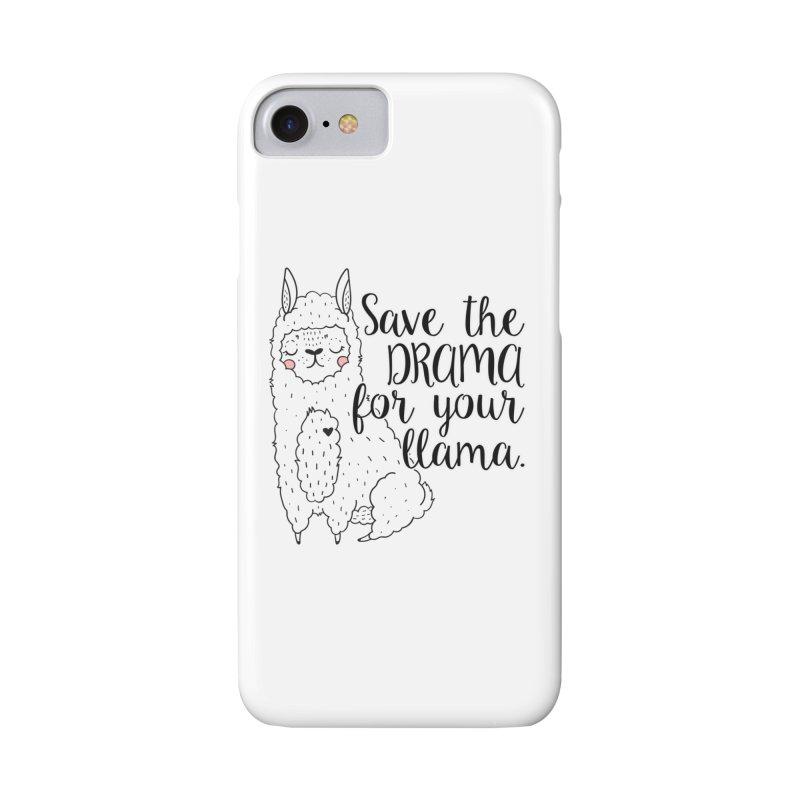 Drama llama Accessories Phone Case by RockerByeDestash Market