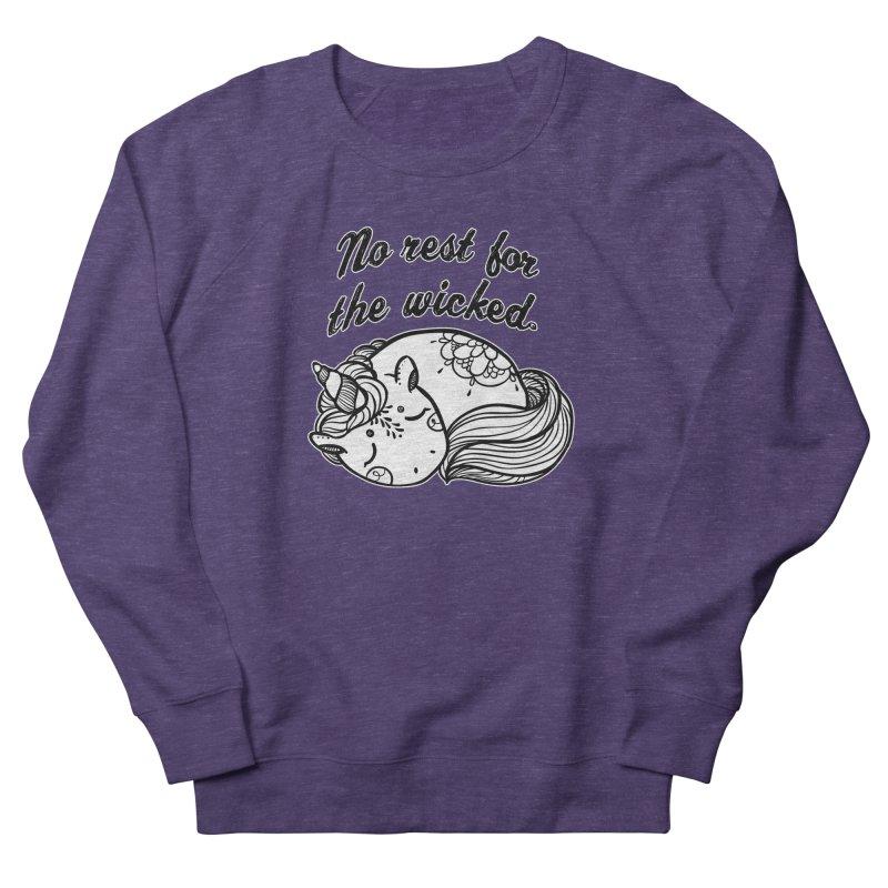 No rest. Women's French Terry Sweatshirt by RockerByeDestash Market