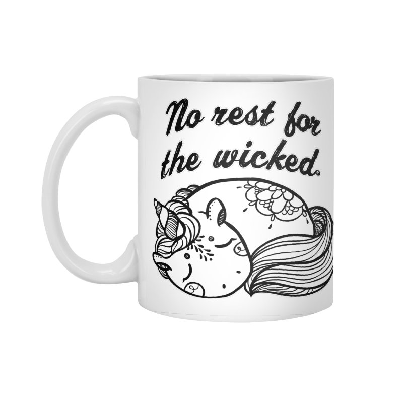 No rest. Accessories Standard Mug by RockerByeDestash Market
