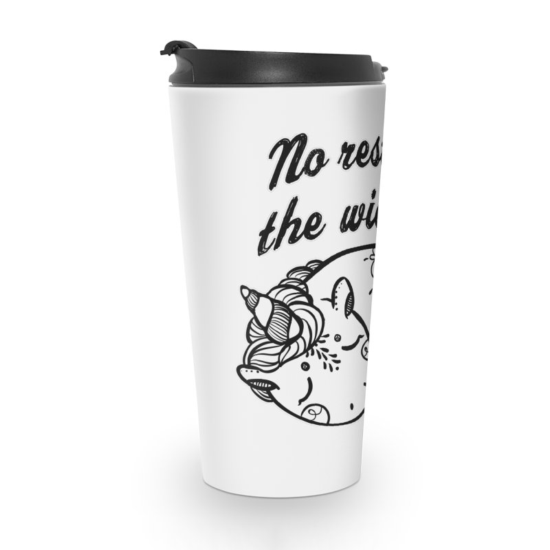 No rest. Accessories Travel Mug by RockerByeDestash Market