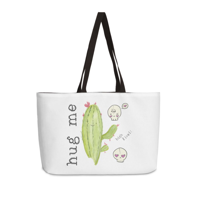 hug me. Accessories Weekender Bag Bag by RockerByeDestash Market