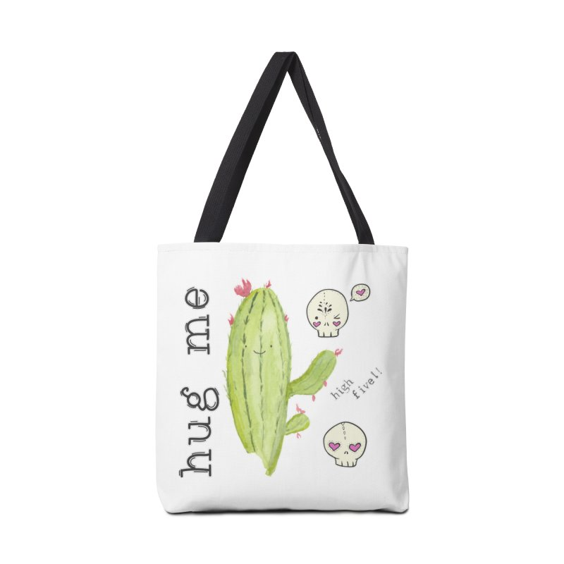 hug me. Accessories Tote Bag Bag by RockerByeDestash Market