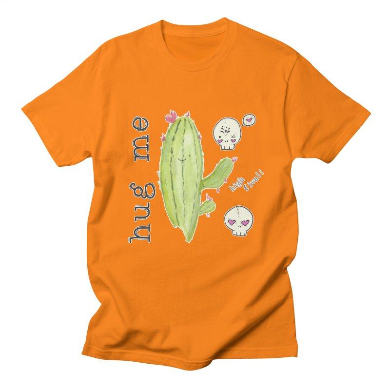 hug me. Men's T-Shirt by RockerByeDestash Market