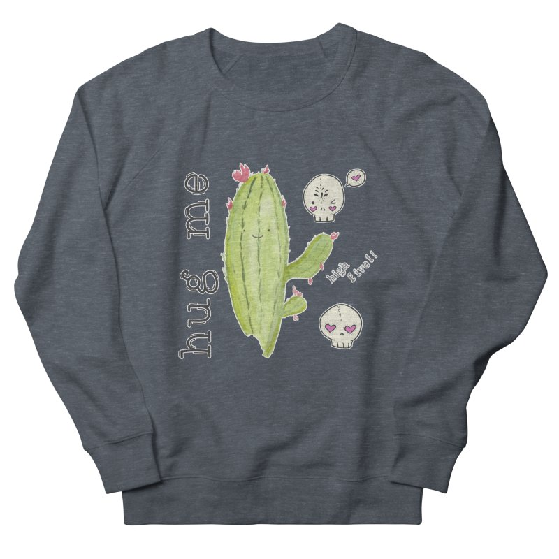 hug me. Men's Sweatshirt by RockerByeDestash Market