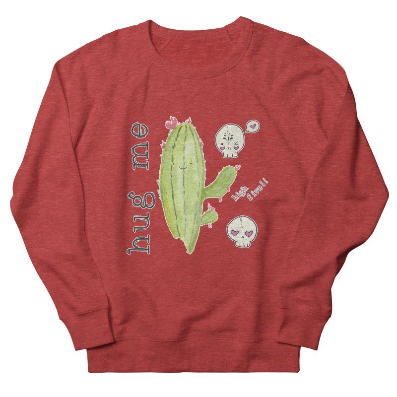 hug me. Men's French Terry Sweatshirt by RockerByeDestash Market