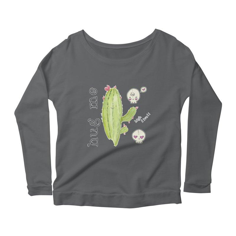 hug me. Women's Longsleeve T-Shirt by RockerByeDestash Market