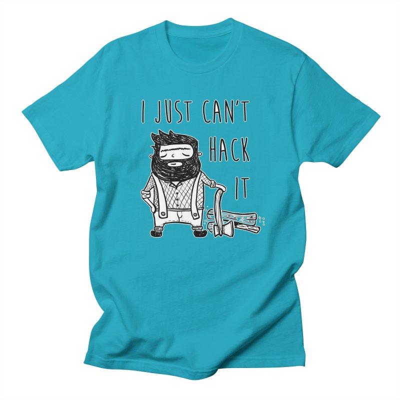 Can't Hack it Men's T-Shirt by RockerByeDestash Market