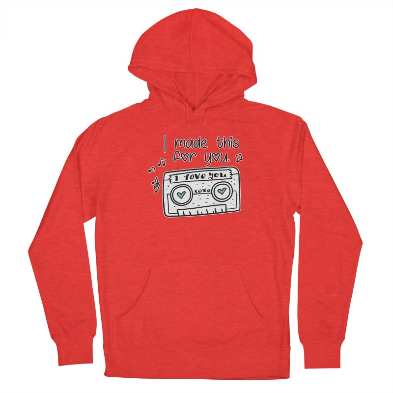 I made this for you. Men's Pullover Hoody by RockerByeDestash Market