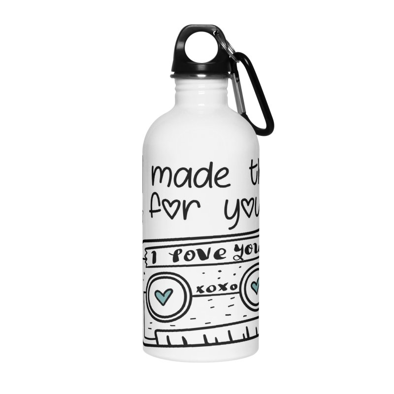 I made this for you. Accessories Water Bottle by RockerByeDestash Market