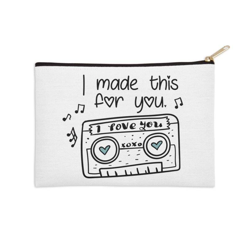 I made this for you. Accessories Zip Pouch by RockerByeDestash Market
