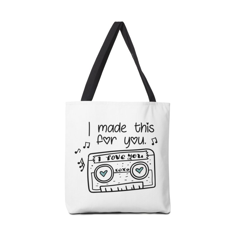 I made this for you. Accessories Bag by RockerByeDestash Market