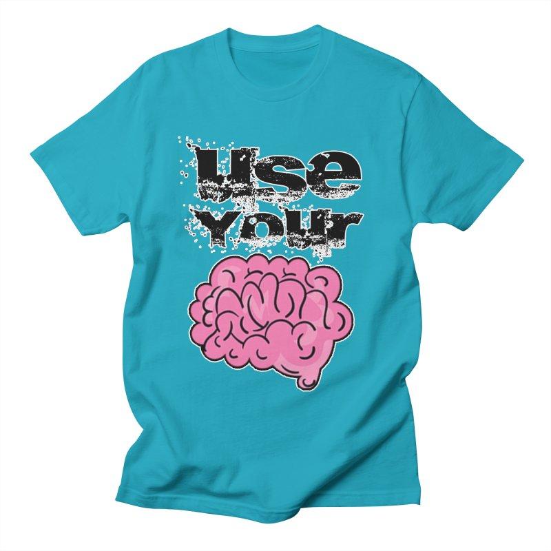 Use Your Brain Women's T-Shirt by RockerByeDestash Market