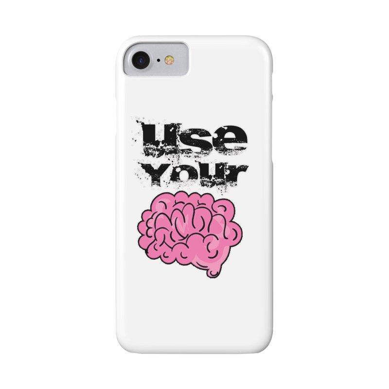 Use Your Brain Accessories Phone Case by RockerByeDestash Market
