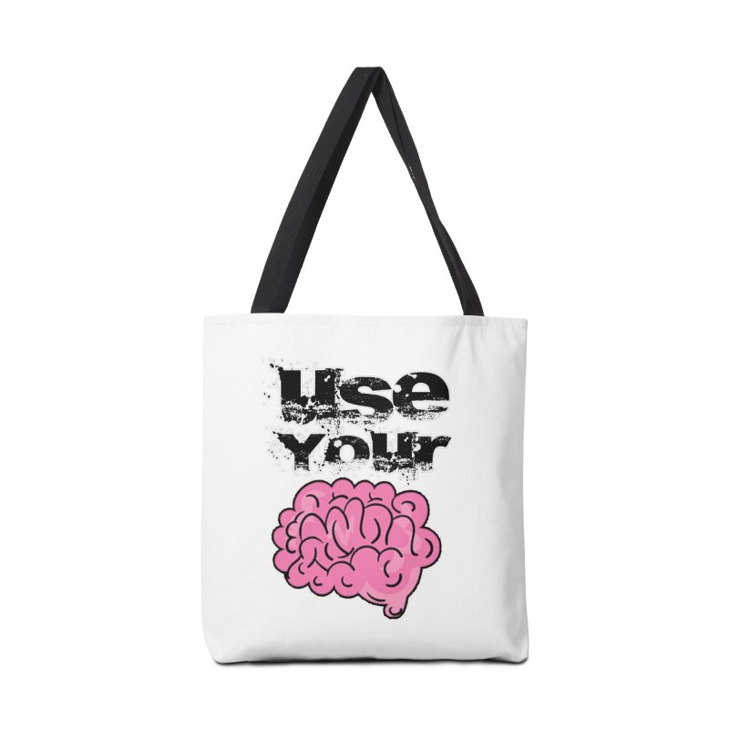 Use Your Brain Accessories Bag by RockerByeDestash Market