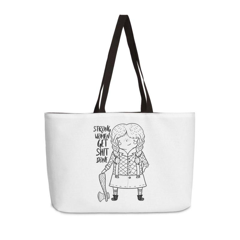 Strong Women Accessories Bag by RockerByeDestash Market