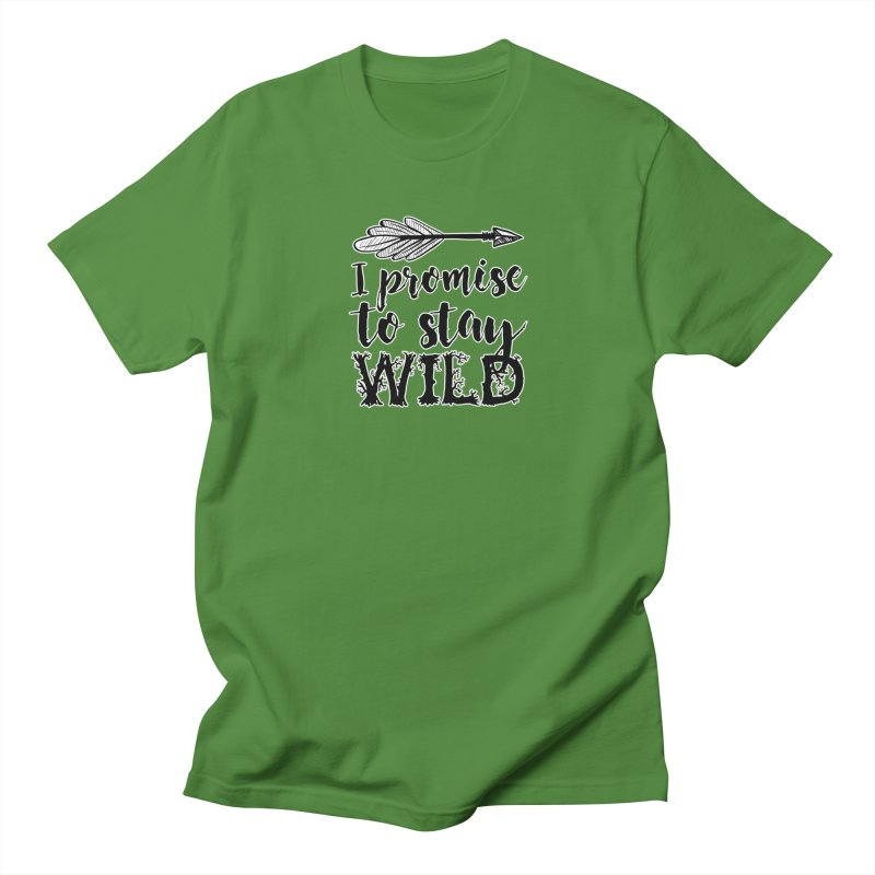 Stay Wild Men's Regular T-Shirt by RockerByeDestash Market