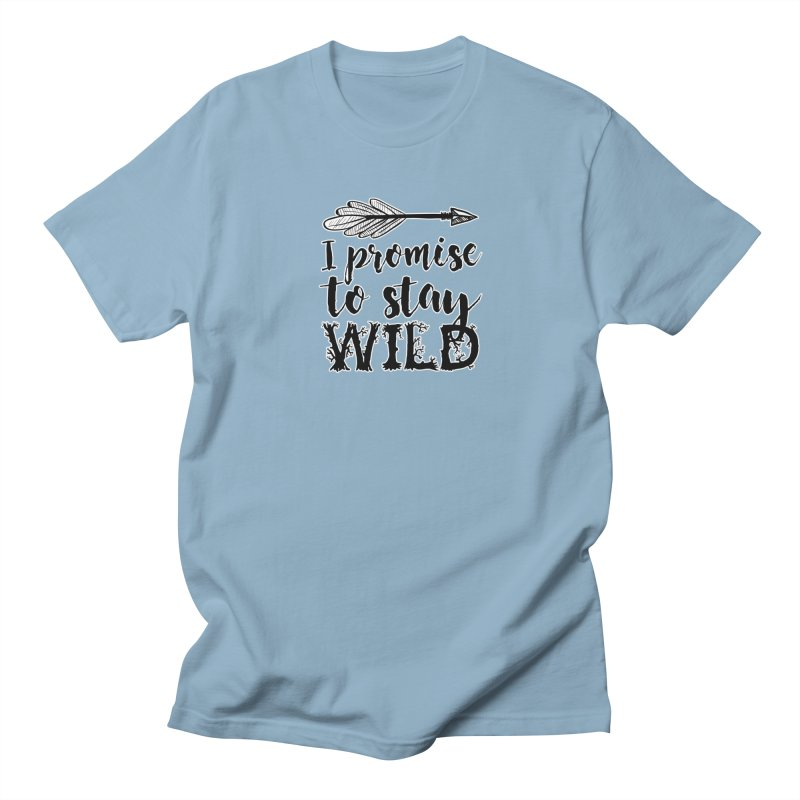 Stay Wild Men's T-Shirt by RockerByeDestash Market