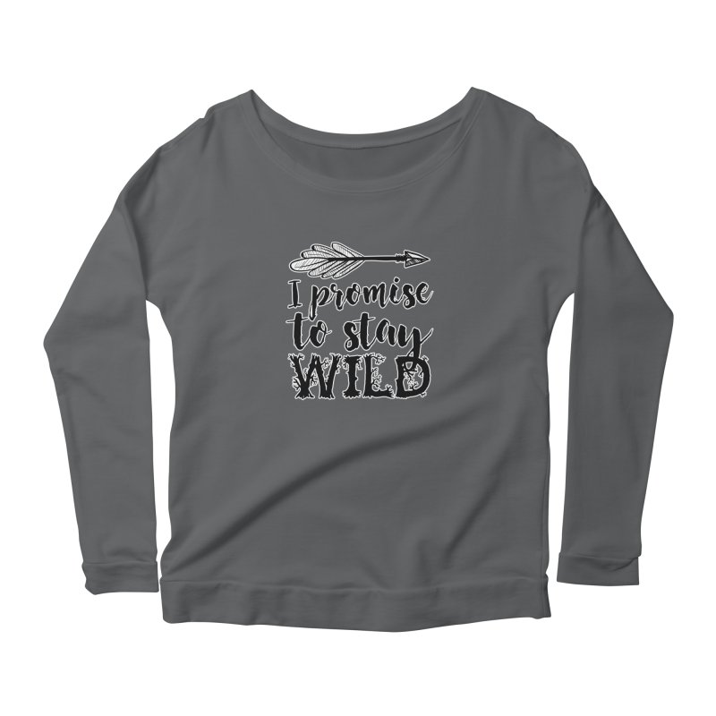 Stay Wild Women's Longsleeve T-Shirt by RockerByeDestash Market
