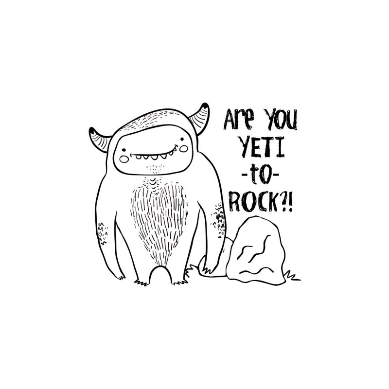 Yeti to Rock Accessories Sticker by RockerByeDestash Market