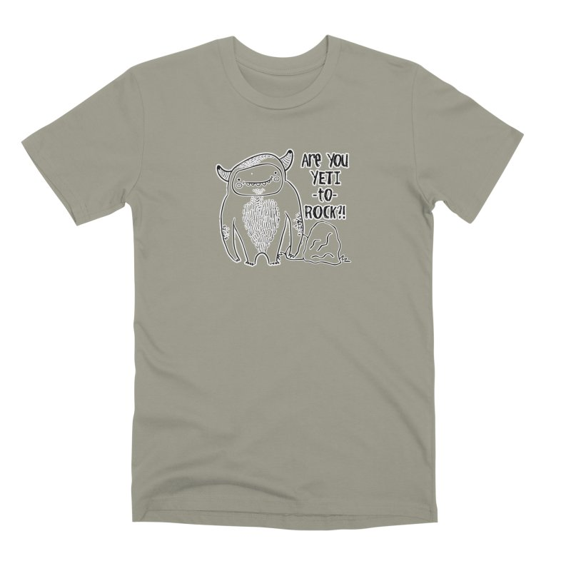 Yeti to Rock Men's T-Shirt by RockerByeDestash Market