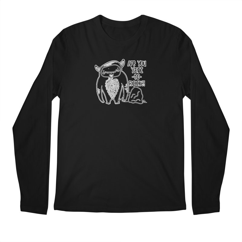 Yeti to Rock Men's Regular Longsleeve T-Shirt by RockerByeDestash Market