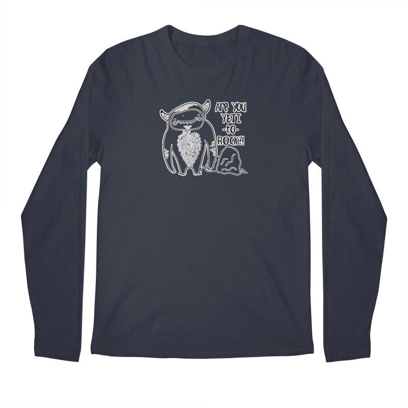 Yeti to Rock Men's Longsleeve T-Shirt by RockerByeDestash Market