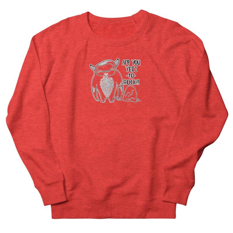 Yeti to Rock Men's Sweatshirt by RockerByeDestash Market