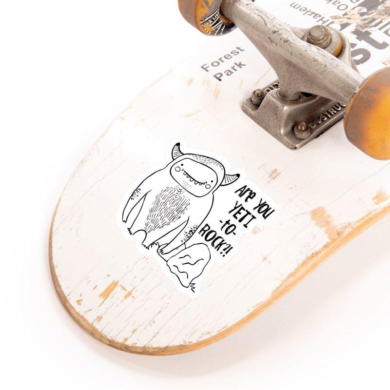 Yeti to Rock Accessories Sticker by RockerByeDestash Market