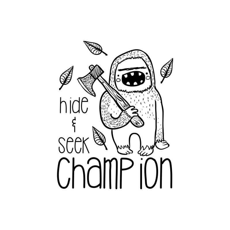 Hide and Seek Champ Men's V-Neck by RockerByeDestash Market