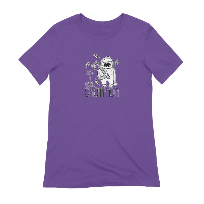 Hide and Seek Champ Women's Extra Soft T-Shirt by RockerByeDestash Market