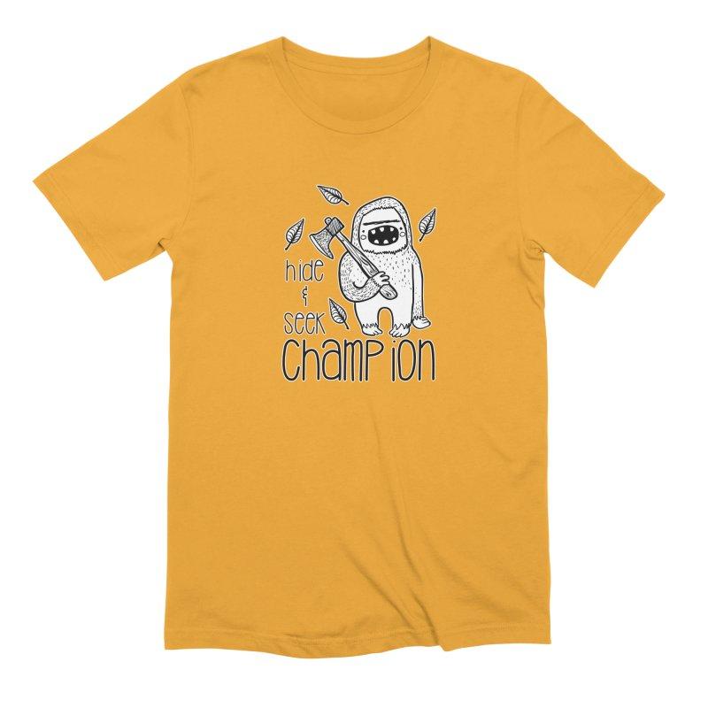 Hide and Seek Champ Men's T-Shirt by RockerByeDestash Market