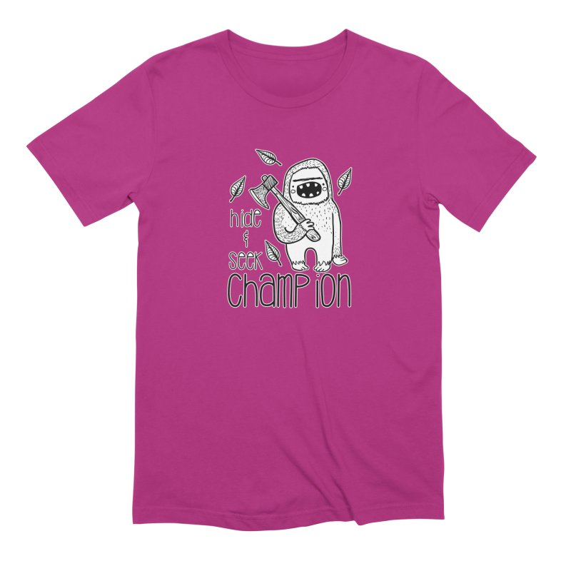 Hide and Seek Champ Men's Extra Soft T-Shirt by RockerByeDestash Market