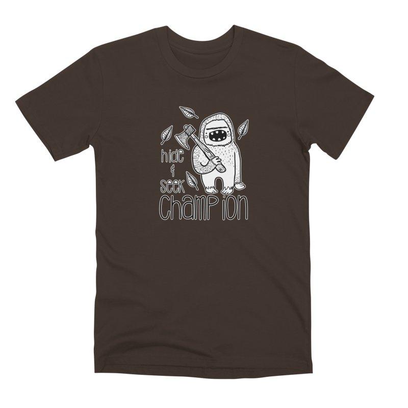 Hide and Seek Champ Men's Premium T-Shirt by RockerByeDestash Market