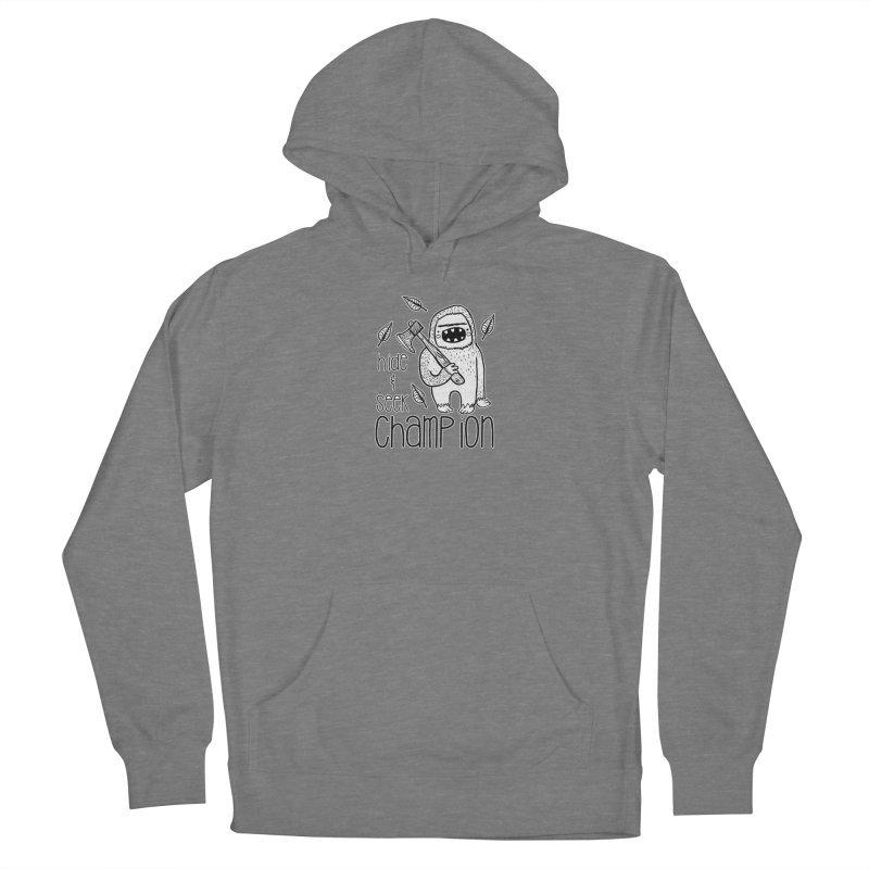 Hide and Seek Champ Men's Pullover Hoody by RockerByeDestash Market